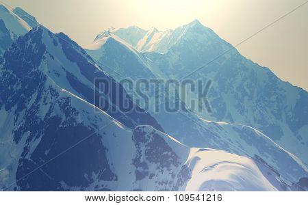 High Caucasus mountains