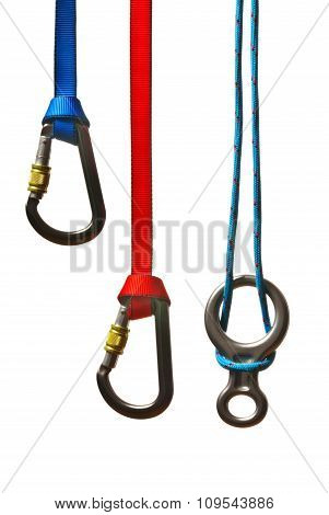 Snap Shackles With Ropes