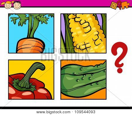 Educational Puzzle Task For Children