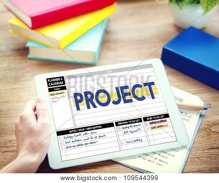 Project Strategy Management Task Plan Concept