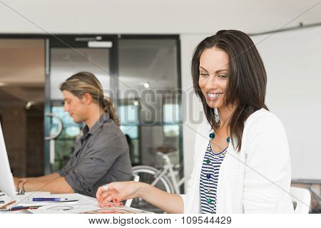 People working in office