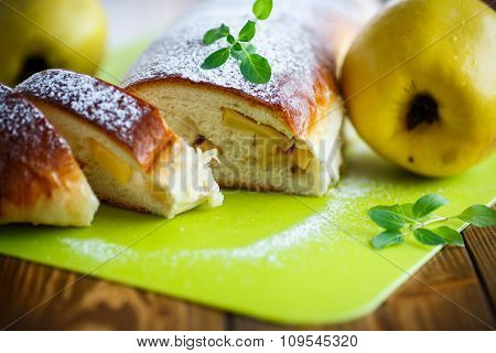 Sweet Strudel Stuffed With Quince