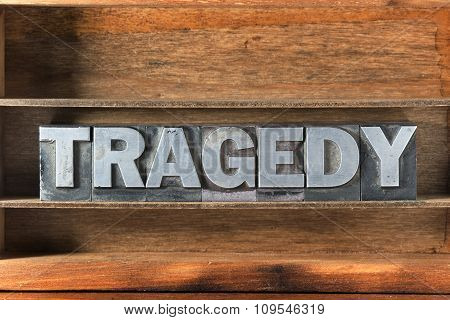 Tragedy Word Tray