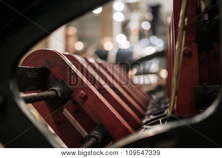 Red Engine Parts