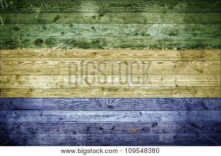 Wooden Boards Gabon