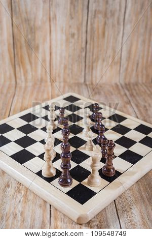 Chessboard And Figures