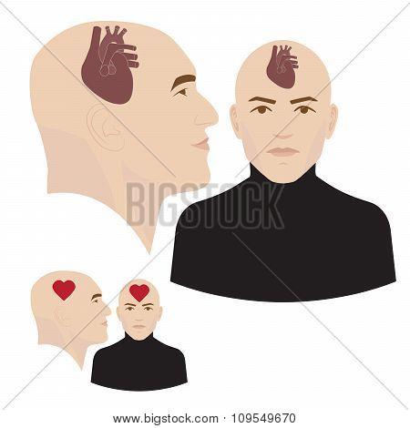 heart in head