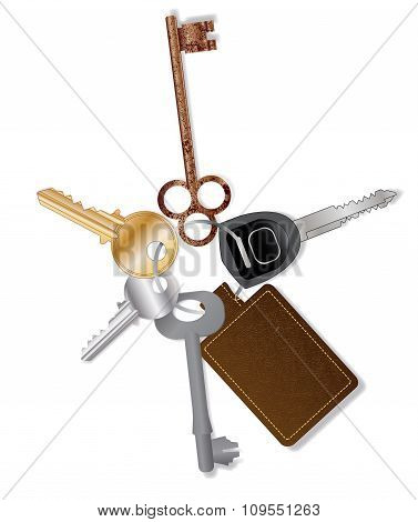 Key Collection With Fob