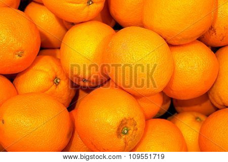 Orange Oranges High Contrast Background