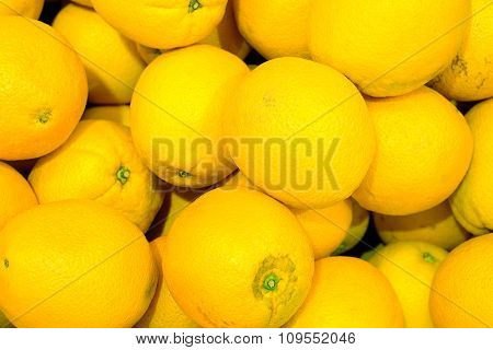 Yellow Oranges High Contrast Background