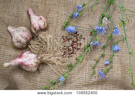 Spices On Sackcloth