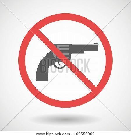 Forbidden Vector Signal With A Gun