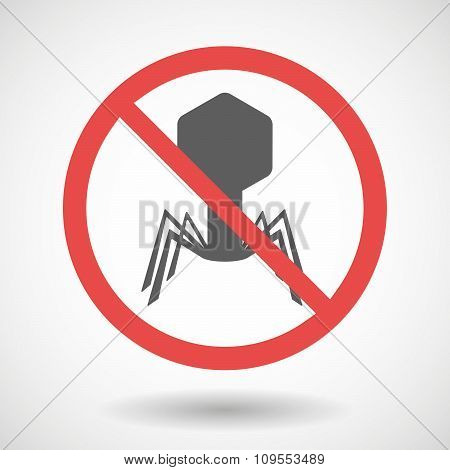 Forbidden Vector Signal With A Virus