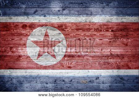 Wooden Boards North Korea