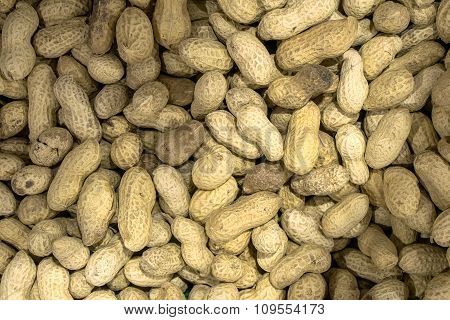 Roasted Peanuts Macro Warm Filtered Background