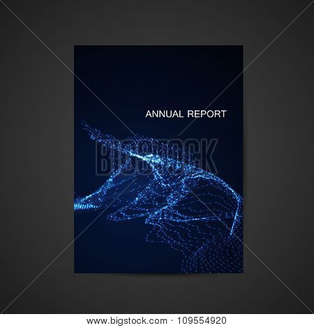 annual report template design