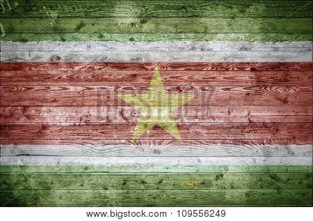 Wooden Boards Suriname