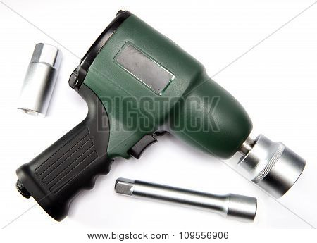 pneumatic air impact wrench and nozzles .