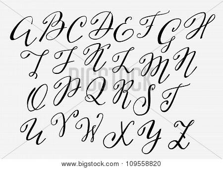 Handwritten Calligraphy Flourish Font