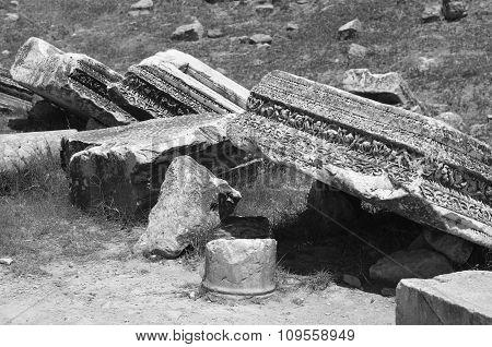Pillar Ruins, Hierapolis