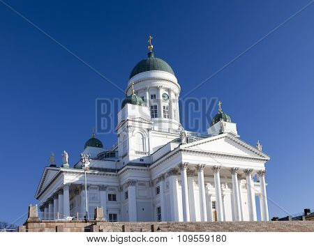 Lutheran cathedral in Helsinki Finland