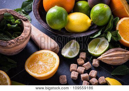 Tasty Summer Refreshing Lemonade
