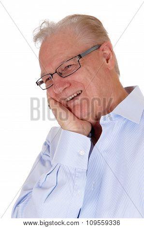 Laughing Older Man.