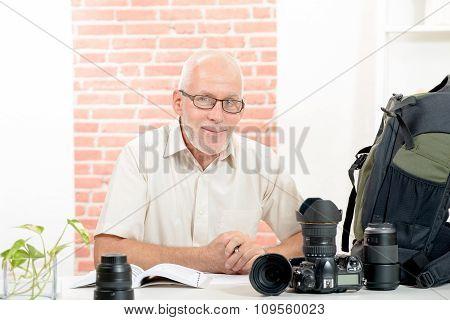 Portrait Of A Senior Photographer