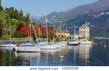 Harbour at Lake Como, Piazza del Porto