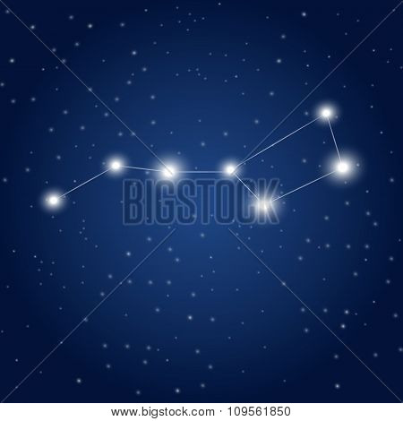 part of Ursa maior constellation