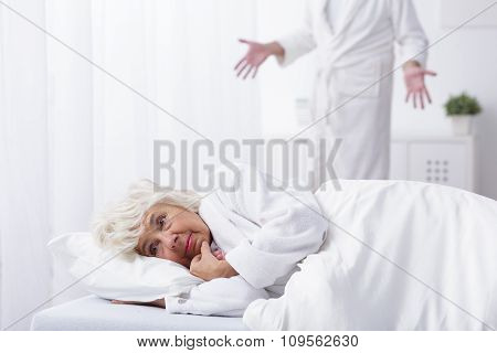 Wife Having Conflict With Husband
