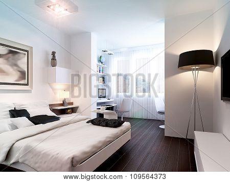 Interior Modern Bedroom