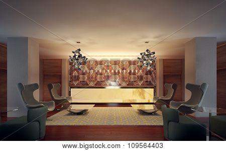 Reception Modern Interior