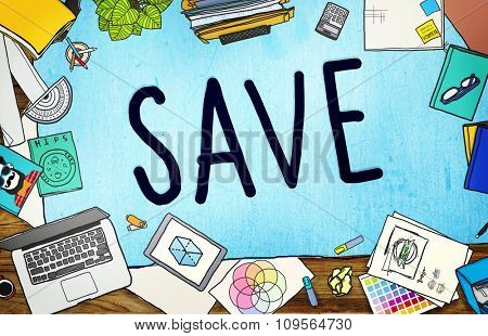 Saving Save Money Finance Budget Banking Concept