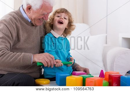 Laughing With Granddad