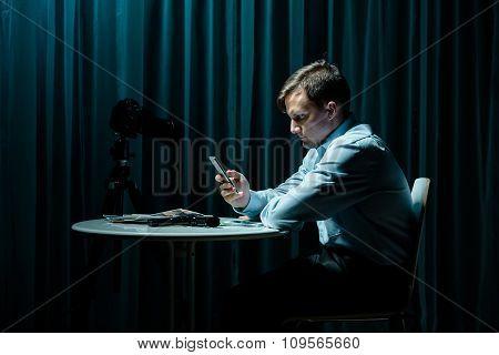Stalker Calling His Victim