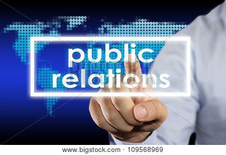 Public Relation Business Concept