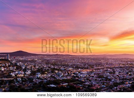 The Magical City of Queretaro Mexico.