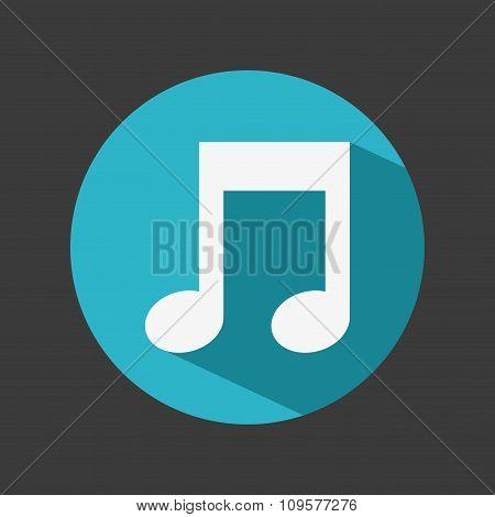 music note design