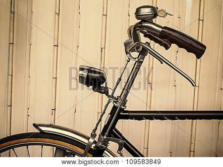 Old Bicycle (vintage Effect Style)