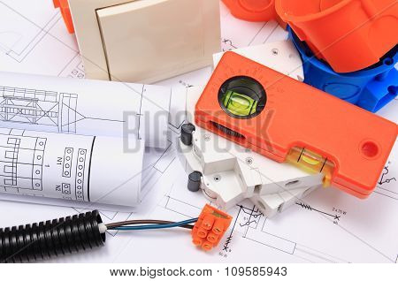 Electrical Components, Accessories For Engineering Jobs And Diagrams