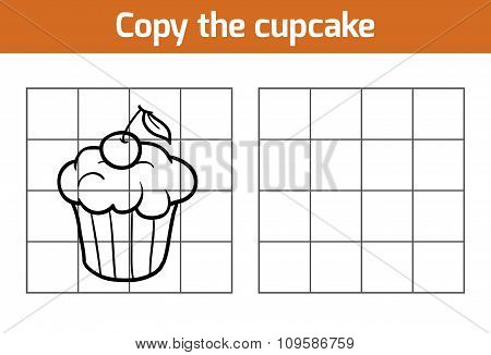 Copy The Picture: Cupcake