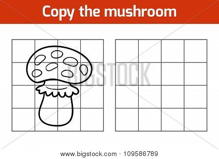 Copy The Picture: Mushroom