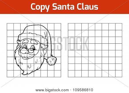 Copy The Picture: Santa Claus