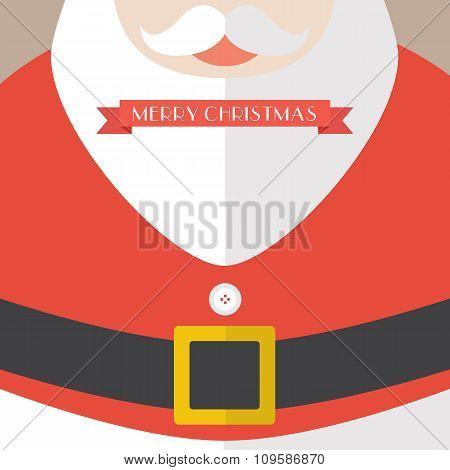 Santa Claus Coat Merry Christmas