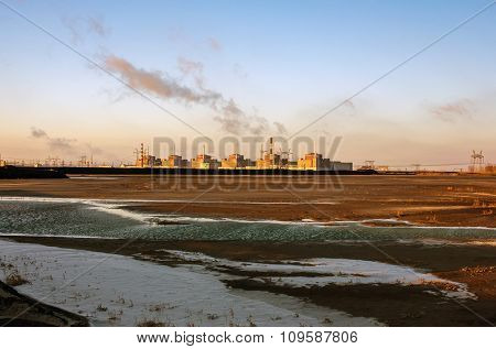 The Biggest Zaporizhzhya Nuclear Power Plant In Europe