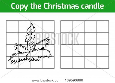 Copy The Picture: Christmas Candle
