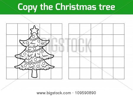 Copy The Picture: Christmas Tree