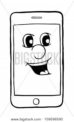 Phone With Smile