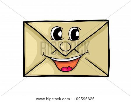 Letter With Smile